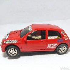 Slot Cars: NINCO RENAULT CLIO 16V EL MUNDO. Lote 288310968