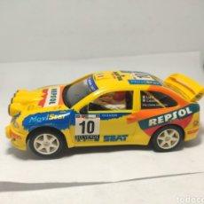 Slot Cars: NINCO SEAT CÓRDOBA WRC REPSOL LIATTI. Lote 288321903
