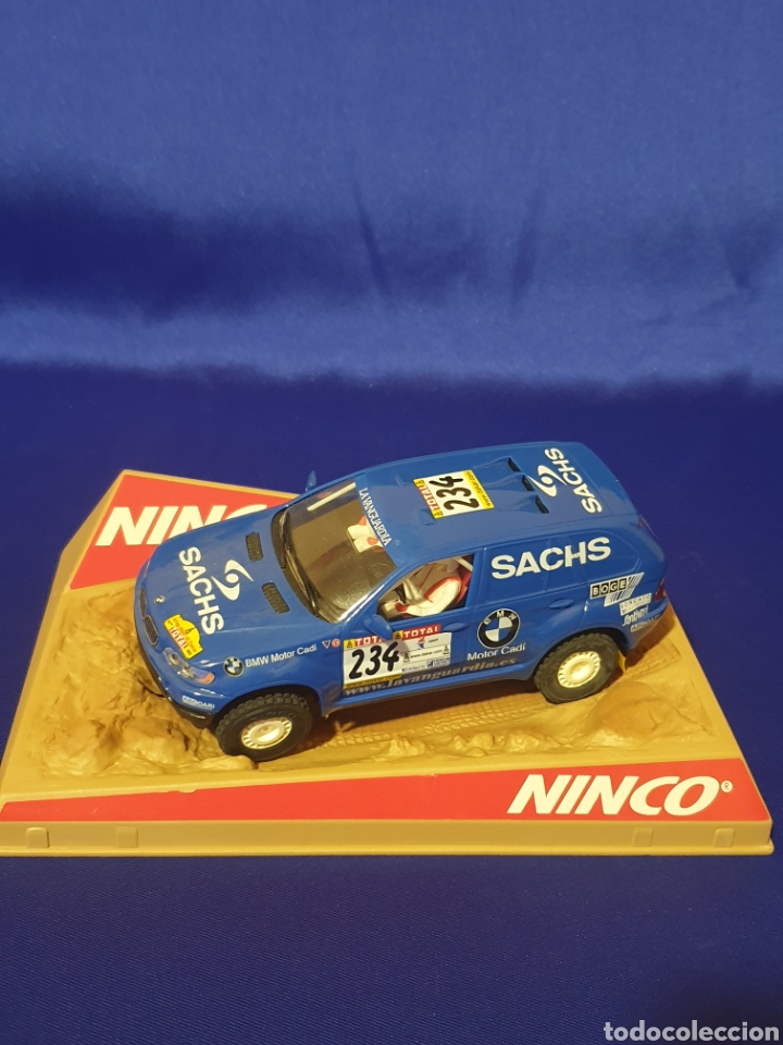"SCX SCALEXTRIC SLOT NINCO 50343 BMW X5 ""MOTOR CADI"" SACHS Nº234 (Juguetes - Slot Cars - Ninco)"