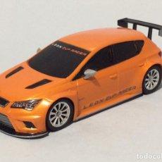 Slot Cars: NINCO SPEEDER SEAT LEÓN RACER CUP. Lote 289557578