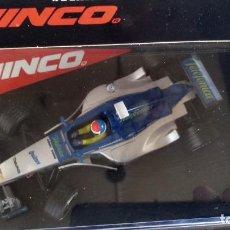 Slot Cars: NINCO 1:32 COCHE SLOT MINARDI FORD Nº 21, REF 50200 MADE IN SPAIN. VÁLIDO SCALEXTRIC. NUEVO, PRECINT. Lote 289637158