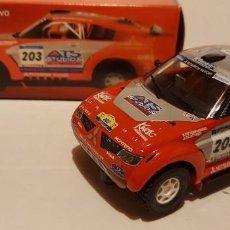 Slot Cars: SCALEXTRIC MITSUBISHI PAJERO EVO DE NINCO. Lote 289653098