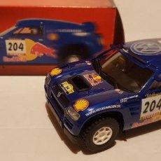 Slot Cars: SCALEXTRIC VOLKSWAGEN TOUAREG DAKAR 2004 DE NINCO. Lote 289653113