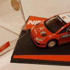 Slot Cars: SCALEXTRIC CITROEN C4 WRC LOEB DE NINCO REF.-50494. Lote 289653158