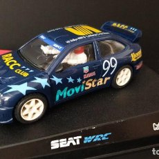 "Slot Cars: NINCO REF: 50182 NUEVO SEAT CORDOBA WRC "" CATALUNYA COSTA BRAVA"" EN CAJA ORIGINAL. Lote 289712408"