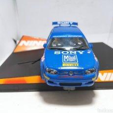 Slot Cars: NINCO VW GOLF GTI SONY MCRAE. Lote 290334533