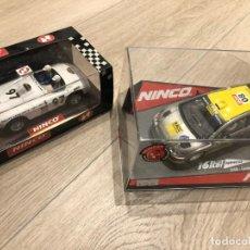 Slot Cars: VENDO 2 COCHES NINCO- SERIE RALLY COSTA BRAVA 1997 - CATALUNYA 2008-SE ADJUNTA FOLLETO PUBLICITARIO.. Lote 292259138