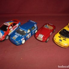 Slot Cars: MAGNIFICOS 4 COCHES SCALEXTRIC NINCO. Lote 294563188