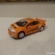 Slot Cars: NINCO. PEUGEOT 307 WRC. NARANJA. SOLBERG. Lote 295559353