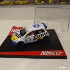 Slot Cars: NINCO. FIAT PUNTO SUPER 1600. VALLEJO. Lote 295797113