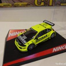 Slot Cars: NINCO. RENAULT MEGANE TROPHY. CESAM. REF. 50379. Lote 295797513
