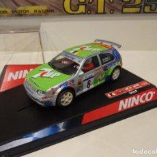 Slot Cars: NINCO. VW GOLF. 7UP. REF. 50274. Lote 295800158