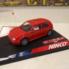 Slot Cars: NINCO. VW GOLF. ROAD CAR RED. REF. 50247. Lote 295800748