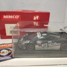 Slot Cars: NINCO MCLAREN F1 GTR LE MANS 1995 REF. 50129. Lote 295851378