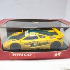 Slot Cars: NINCO MCLAREN F1 GTR HARRODS REF. 50130. Lote 295908603