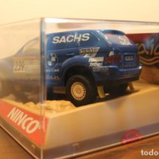 Slot Cars: NINCO SLOT CAR BMW X5 REF 50343 RALLY DAKAR. Lote 296010278