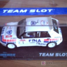 Slot Cars: LANCIA DELTA INTEGRALE FINA DE TEAM SLOT. Lote 98199166