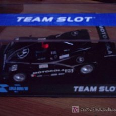 Slot Cars: BLACK FRIDAY - LOLA B98 MOTOROLA DE LAS 24 HORAS DE LE MANS DE TEAM SLOT. Lote 183698491