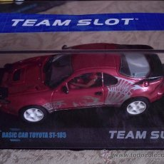Slot Cars: OFERTON -BASIC CAR - TOYOTA GRANATE TUNNING DE TEAM SLOT. Lote 97975324