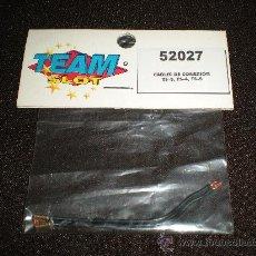 Slot Cars: TEAM SLOT REF. 52027 CABLES DE CONEXIÓN TS-3, TS-4, TS-5. Lote 16608211