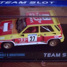 Slot Cars: OFERTA - RENAULT 5 MAXITURBO 33 DE TEAM SLOT. Lote 128683838