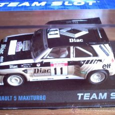 Slot Cars: RENAULT 5 MAXITURBO DIAC DE TEAM SLOT. Lote 107435159