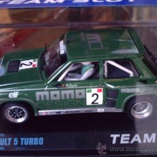 Slot Cars: RENAULT 5 TURBO MOMO DE TEAM SLOT. Lote 98199084