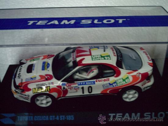 OFERTA - TOYOTA CELICA GT-4 RALLY CATALUNYA 94 DE TEAM SLOT (Juguetes - Slot Cars - Team Slot)