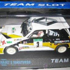 Slot Cars: OFERTA - RENAULT 5 MAXITURBO DE CARLOS SAINZ DE TEAM SLOT. Lote 95632582