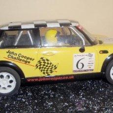Slot Cars: MINI COOPER DE HORNBY. Lote 29419785