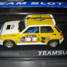 Slot Cars: RENAULT 5 RALLY RACE 83 DE G. ORTIZ DE TEAM SLOT. Lote 95632166