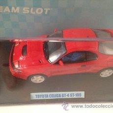 Slot Cars: CCCSLOT - VENDE TOYOTA CELICA GT-4 ST-185 ROAD CAR COLOR ROJO DE TEAM SLOT NUEVO EN CAJA. Lote 33751717