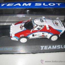 Slot Cars: NOVEDAD - LANCIA STRATOS MARTINI DE TEAM SLOT. Lote 120588980