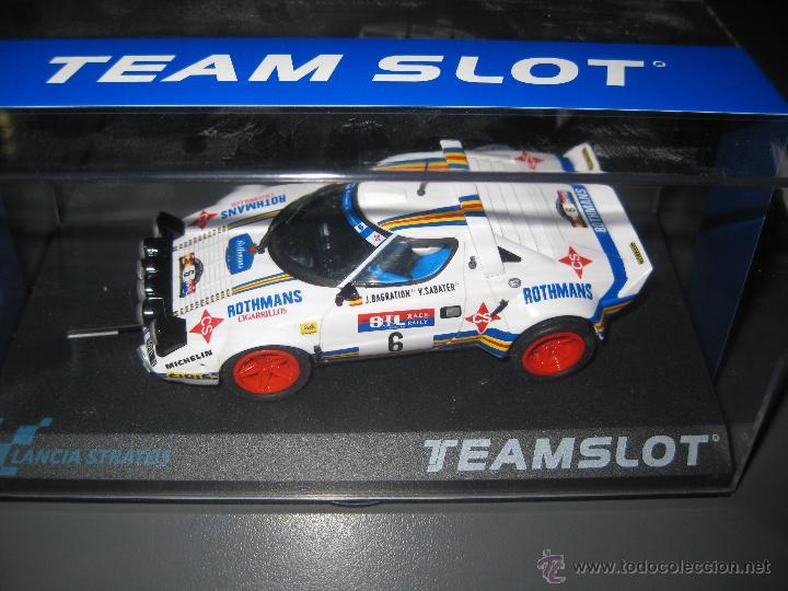 11511 - LANCIA STRATOS ROTHMANS RACE 1981 DE TEAM SLOT (Juguetes - Slot Cars - Team Slot)