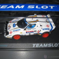 Slot Cars: 11511 - LANCIA STRATOS ROTHMANS RACE 1981 DE TEAM SLOT. Lote 152043001