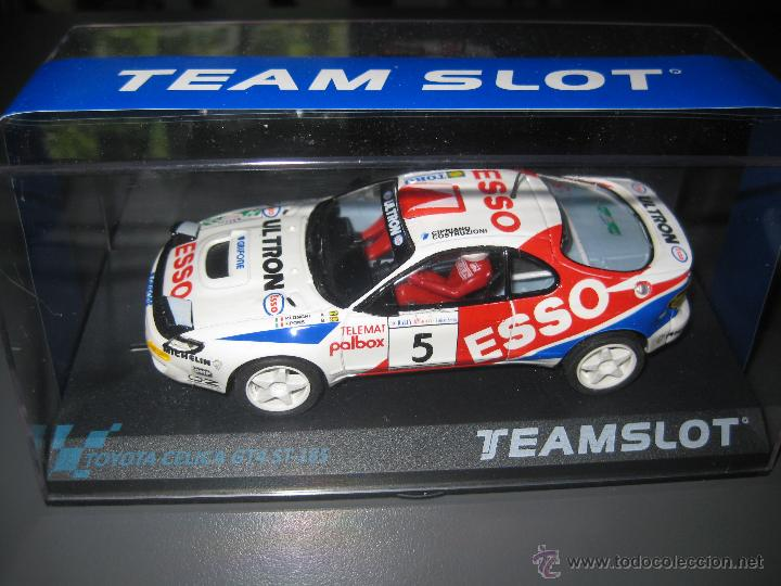 OFERTA - 11706 - TOYOTA CELICA ESSO DE TEAM SLOT (Juguetes - Slot Cars - Team Slot)