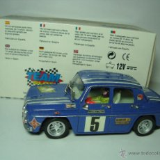 Slot Cars: RENAULT 8 COPA TS DE TEAM SLOT 1,32 SCALEXTRIC UNICO CAJA CARTON ORIGINAL. Lote 48859924