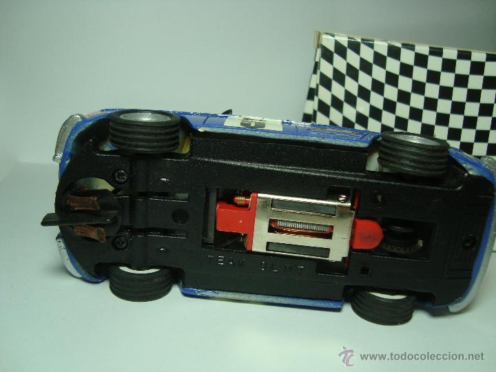 Slot Cars: RENAULT 8 COPA TS DE TEAM SLOT 1,32 SCALEXTRIC UNICO CAJA CARTON ORIGINAL - Foto 2 - 48859924