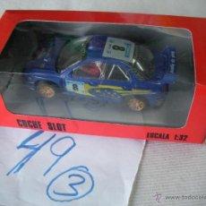 Slot Cars: COCHE SLOT WRC - ENVIO GRATIS A ESPAÑA. Lote 49214703