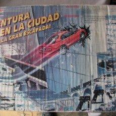Slot Cars: ANTIGUO CIRCUITO SLOT - AVENTURA DE LA CIUDAD - LA GRAN ESCAPADA - FAMOPLAY. Lote 50471131
