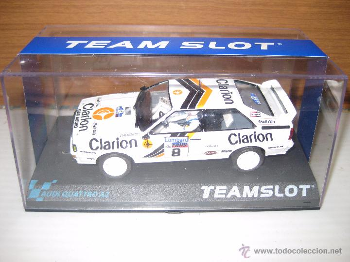 AUDIQUATRO A2 CLARION Nº 8 (Juguetes - Slot Cars - Team Slot)