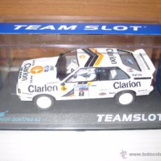 Slot Cars: AUDIQUATRO A2 CLARION Nº 8. Lote 54698766