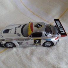 Slot Cars: SCALEXTRIC MERCEDES SLS AMG NUEVO A ESTRENAR. Lote 55903556