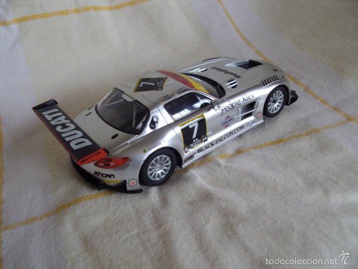 Slot Cars: SCALEXTRIC MERCEDES SLS AMG NUEVO A ESTRENAR - Foto 2 - 55903556