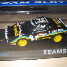 Slot Cars: NOVEDAD - 11515 - LANCIA STRATOS LE POINT TOUR DE FRANCE 80 TEAM SLOT. Lote 82331130