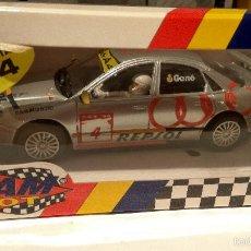Slot Cars: AUDI A4 GENE TEAM SLOT REF. 10401 RESINA. Lote 60706015