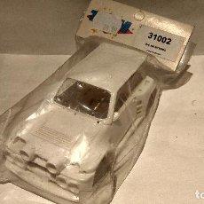 Slot Cars: CARROCERÍA RENAULT 5 MAXITURBO BLANCO RESINA TEAM SLOT REF.31002. Lote 62023076