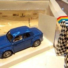 Slot Cars: RENAULT 8 TS GR.5 AZUL RESINA TEAM SLOT REF. 21601. Lote 63361148
