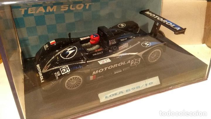 LOLA B98/10 MOTOROLA TEAM SLOT REF. 11402 (Juguetes - Slot Cars - Team Slot)