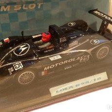Slot Cars: LOLA B98/10 MOTOROLA TEAM SLOT REF. 11402. Lote 63361172